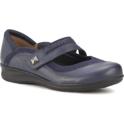 ウォーキング クレードル Walking Cradles レディース シューズ・靴 Clover Navy Nappa/Nubuck