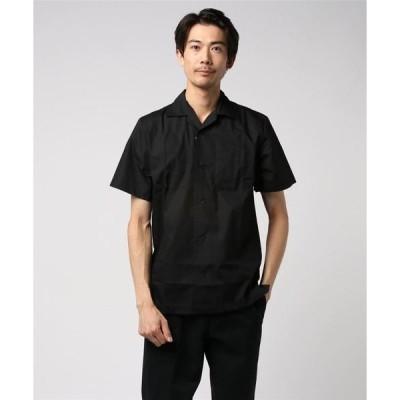 シャツ ブラウス 【Hilton】(UN)ソリッド キャンパーシャツ