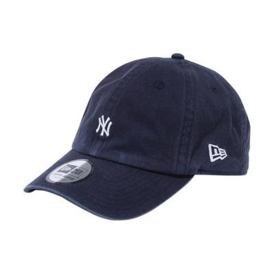 ニューエラ(NEW ERA) キャップ Casual Classic ニューヨーク・ヤンキース MLB カスタム ミニロゴ ネイビー 12540493 帽子 カジュアル アウトドア