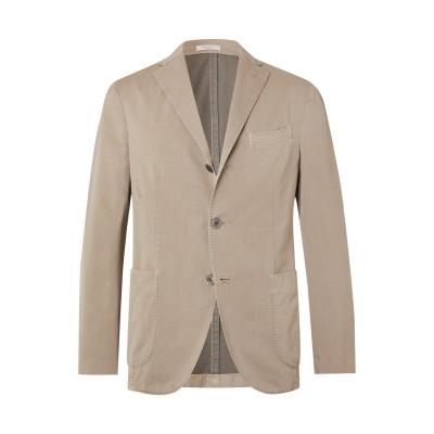 ボリオリ BOGLIOLI テーラードジャケット ベージュ 46 コットン 87% / ナイロン 13% テーラードジャケット