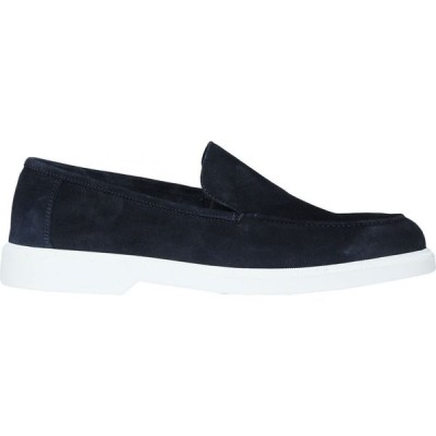 オット バイ ユークス 8 by YOOX メンズ ローファー シューズ・靴 split leather loafer Dark blue