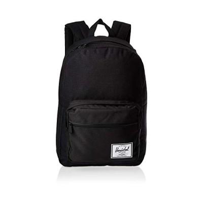Herschel Pop Quiz Backpack, Dark Grid/Black, Classic 22L 並行輸入品
