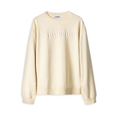 ナヌシュカ メンズ パーカー・スウェット アウター Remy Embroidered Logo Sweatshirt