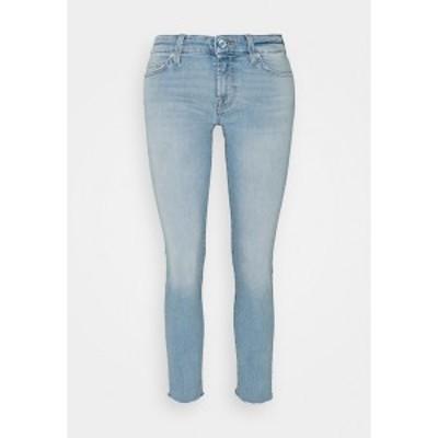 7フォーオールマンカインド レディース デニムパンツ ボトムス PYPER CROP ILLUSION SWEET - Jeans Skinny Fit - light blue light blue