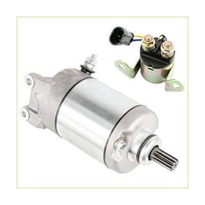 Caltric compatible with Starter and Relay Polaris Sportsman 550 XP EFI/EFI EPS 2009 / X2 550 2010 スターター 並行輸入品