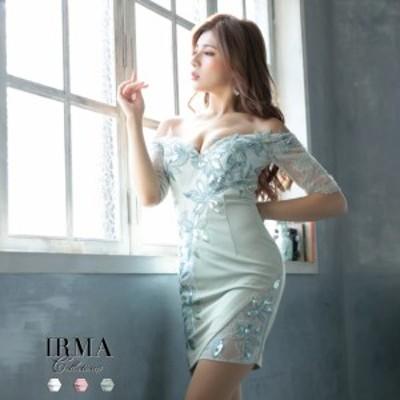 IRMA ドレス イルマ キャバドレス ナイトドレス ワンピース 全3色 7号 S 9号 M 11号 L 95573 クラブ スナック キャバクラ パーティード