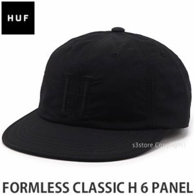 ハフ FORMLESS CLASSIC H 6 PANEL カラー:Black サイズ:O/S