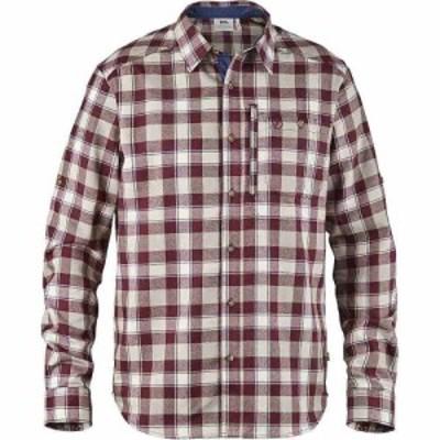 フェールラーベン Fjallraven メンズ シャツ トップス fjallglim shirt Dark Garnet