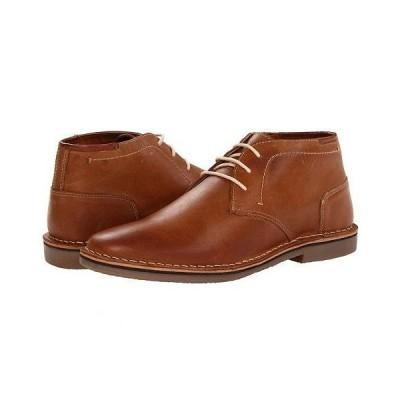 Steve Madden スティーブマデン メンズ 男性用 シューズ 靴 ブーツ チャッカブーツ Hestonn - Tan Leather