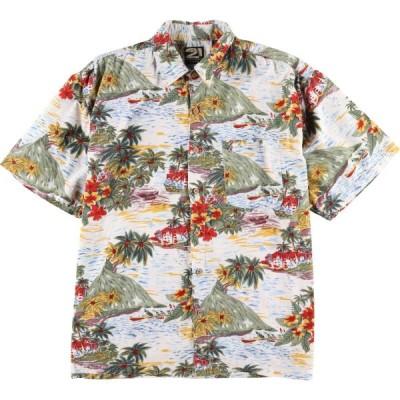 RUE 21 GUYS ハワイアンアロハシャツ メンズL /eaa035397