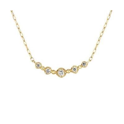 4℃(ヨンドシー) ダイヤモンドK10イエローゴールド(YG) ネックレス 111636123007