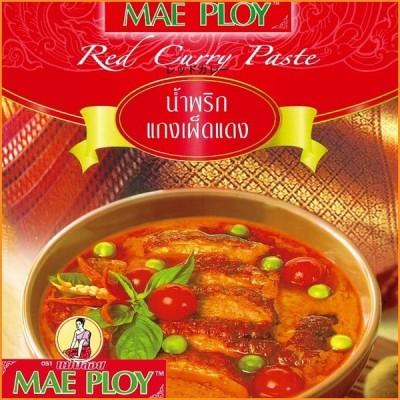タイカレー MAE PLOY タイ料理 レッドカレーペースト 50g 〔MAE PLOY〕 料理の素 ココナッツ エスニック料理