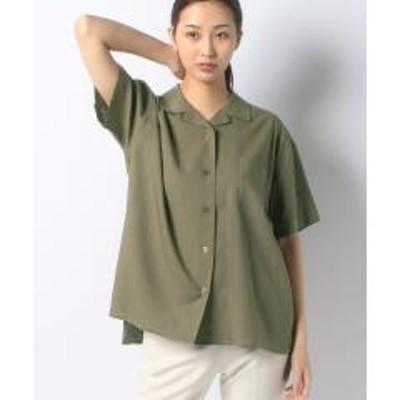 コエオープンカラーシャツ