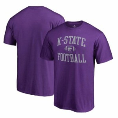 Fanatics Branded ファナティクス ブランド スポーツ用品  Fanatics Branded Kansas State Wildcats Purple Neutral Zone Big and Tall T