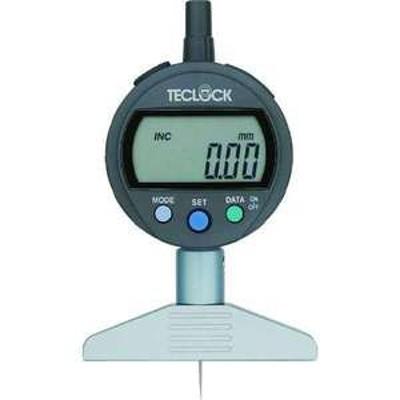 【送料無料】テクロック デジタルデプスゲージ 測定範囲12mm(品番:DMD-210J)『7955081』