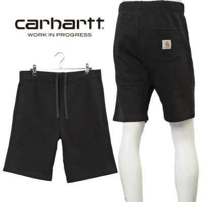 カーハート ダブリューアイピー Carhartt WIP スウェットハーフパンツ I027698-8900 BLACK