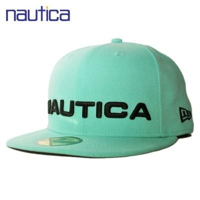 ニューエラ ラノーティカ コラボ ベースボールキャップ 帽子 NEW ERA NAUTICA 59fifty メンズ レディース lbe