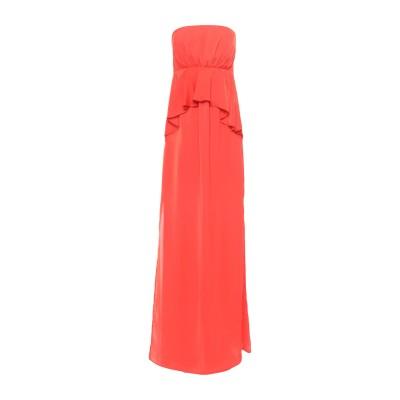 アンナリータ エンネ ANNARITA N ロングワンピース&ドレス オレンジ 38 ポリエステル 100% ロングワンピース&ドレス
