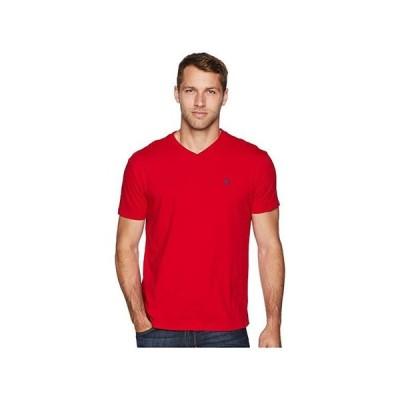 ポロ・ラルフローレン Classic Fit V-Neck T-Shirt メンズ シャツ トップス RL2000 Red