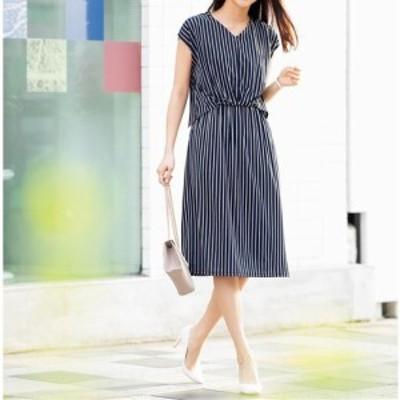 レディースファッション レディース ワンピース 【バーゲン】カットソーワンピース S M L LL|3508-594311