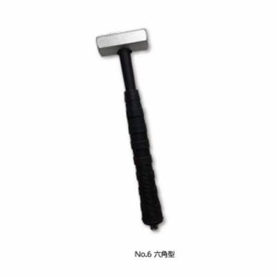 土牛産業 鋼のGENNOII No.6 六角型 【品番:02955】