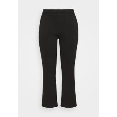 ピーシーズ カーブ レディース カジュアルパンツ ボトムス PCCHILLI PANTS - Trousers - black black