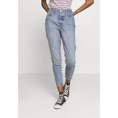 ピーシーズ デニムパンツ レディース ボトムス PCCARA  - Slim fit jeans - light blue denim