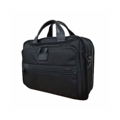 トゥミ メンズ ビジネスバッグ・ブリーフケース アルファ 026132D2 ブラック