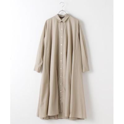 MARcourt/マーコート flare shirt OP beige FREE