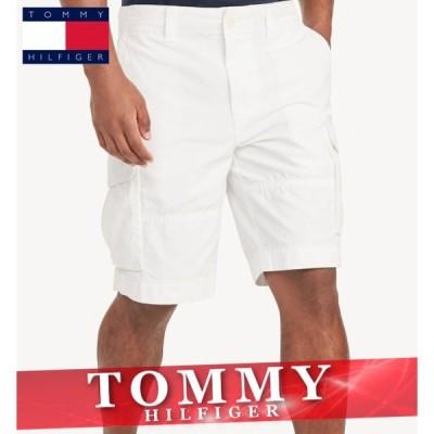 トミーヒルフィガー ショートパンツ ハーフ 短パン カーゴ メンズ エッセンシャル ロゴ 無地 ボトムス 半ズボン 新作 TOMMY