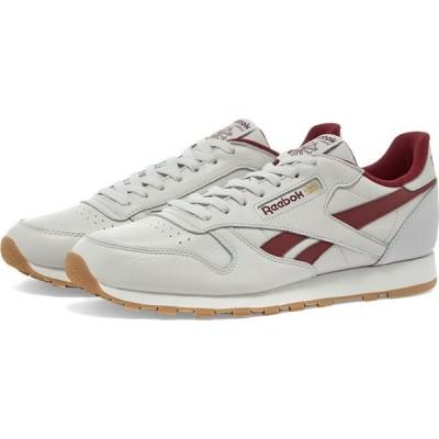 リーボック Reebok メンズ スニーカー シューズ・靴 classic leather Porcelain/Merlot