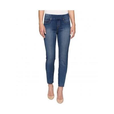 """Tribal トリバル レディース 女性用 ファッション ジーンズ デニム Pull-On 31"""" Dream Jeans in Retro Blue - Retro Blue"""