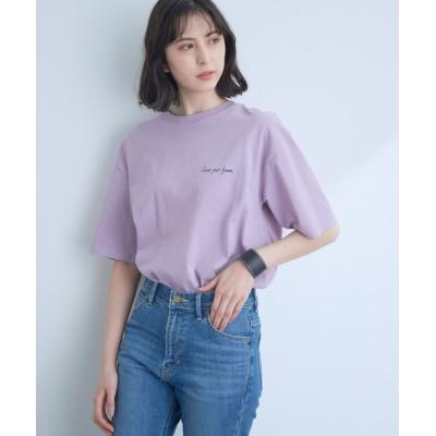 ViS / 【SOMETHING】【WEB限定】バックプリントBIG Tシャツ WOMEN トップス > Tシャツ/カットソー