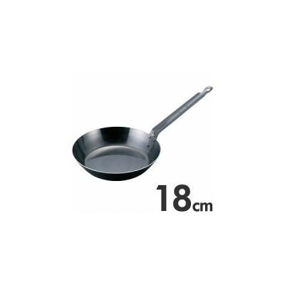 EBM ブルーテンパー 鉄フライパン 18cm IH(200V)対応