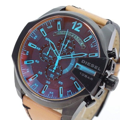 ディーゼル DIESEL 腕時計 DZ4476 メンズ メガチーフ MEGA CHIEF クォーツ ブラック