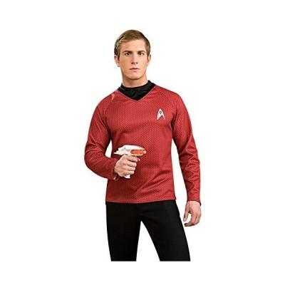Star Trek Movie (2009) Red Shirt Deluxe Adult Costume スター?トレックムービー(2009)レッド