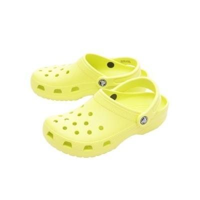 クロックス(crocs) サンダル サンダル クラシック クロッグ Citrus 10001-738 オンライン価格 (レディース)