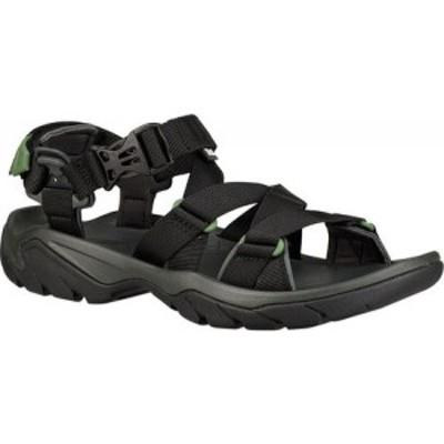 テバ Teva メンズ サンダル スポーツサンダル シューズ・靴 Terra Fi 5 Sport Sandal Black Textile
