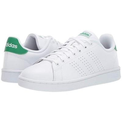 アディダス Advantage メンズ スニーカー 靴 シューズ Footwear White/Footwear White/Green