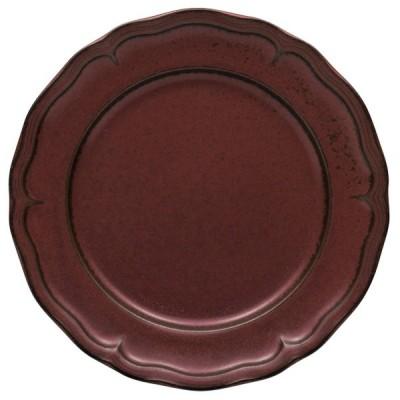 モダンプレート 洋食器 / クリスタ25cmディナー(緋朱) 寸法: 25.5 x 3cm