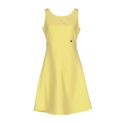 ブルーガール ブルマリン BLUGIRL BLUMARINE ミニワンピース&ドレス イエロー 44 95% ポリエステル 5% ポリウレタン ミニ