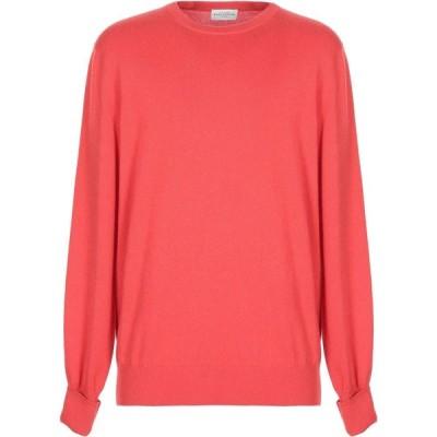 バランタイン BALLANTYNE メンズ ニット・セーター トップス cashmere blend Coral