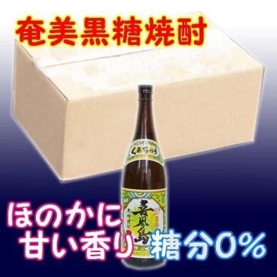 奄美黒糖焼酎 喜界島 20% 1800ml 瓶 * 6本