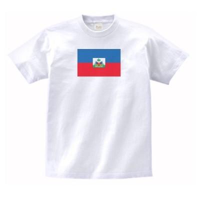 ハイチ 国 国旗 Tシャツ