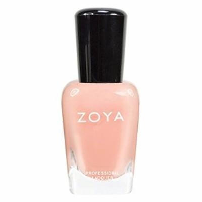 zoya ゾーヤ ネイルカラーzp434 lulu ルル 15ml 淡く色づくフェミニンなライトピーチ シアー/クリーム 爪にやさしいネイルラッカーマニキ