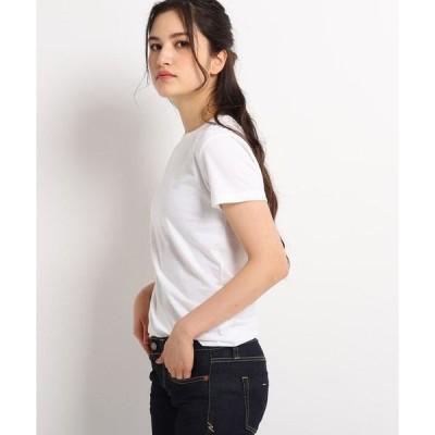 JET / ジェット 【ウォッシャブル】コットンラウンドネックTシャツ