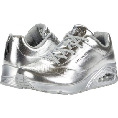 スケッチャーズ SKECHERS レディース スニーカー シューズ・靴 Uno - Molten Metallic Silver