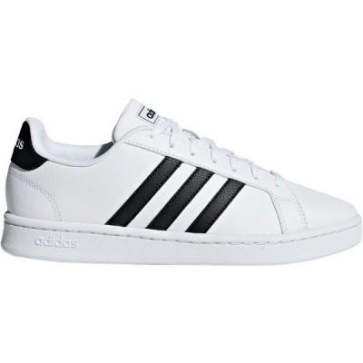 アディダス スニーカー シューズ レディース adidas Women's Grand Court Shoes White/Black