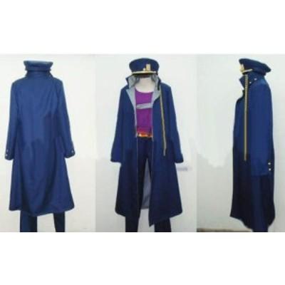 DK2493 奇妙な冒険 第3部 空条承太郎 (Ver.3) 風 コスプレ衣装 完全オーダメイドも対応可能