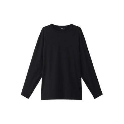 THE RERACS ザ・リラクス ロングスリーブTシャツ レディース ブラック 1(36)